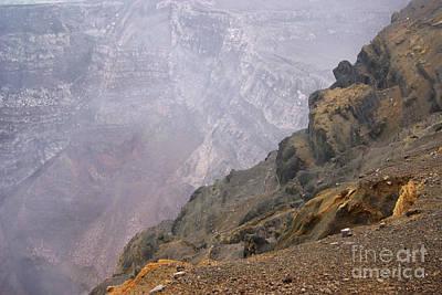 Photograph - Masaya Active Crater Nicaragua 2 by Rudi Prott