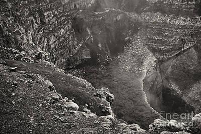 Photograph - Masaya Active Crater Nicaragua 5 by Rudi Prott