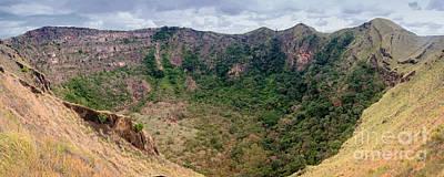 Photograph - Masaya Old Crater Nicaragua 1 by Rudi Prott