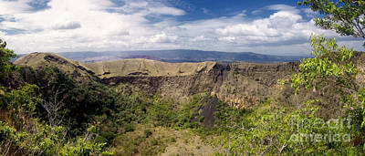 Photograph - Masaya Old Crater Nicaragua 2 by Rudi Prott