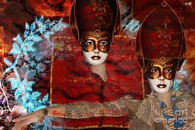Mascarade Original by Angelika Drake