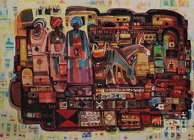 Maseed Maseed 6 Art Print by Mohamed Fadul