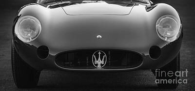 Photograph - Maserati 300s by Dennis Hedberg