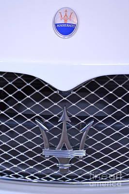 Maserati Emblems Art Print