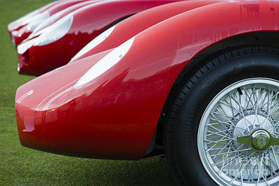 Photograph - Maserati Red by Dennis Hedberg