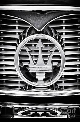 60s Photograph - Maserati  by Tim Gainey