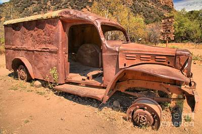 Photograph - Mash Rusted Out by Adam Jewell