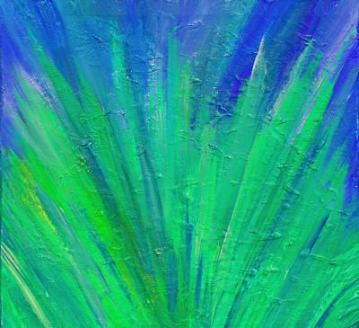 Painting - Mash Up by Cyryn Fyrcyd