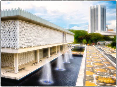 Photograph - Masjid Negara - Malaysia's Modern National Mosque by David Hill