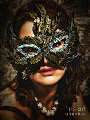 Mask  No. 2  ... Art Print