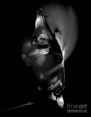 Barrelman Digital Art - Mask 0519 Marucii by Marek Lutek