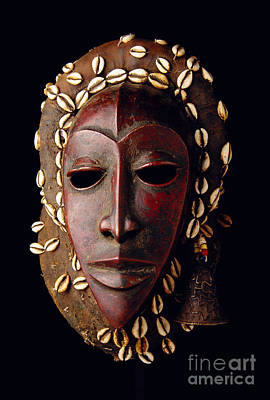 Photograph - Mask From Ivory Coast by Vanessa Vick