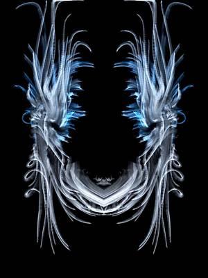 Digital Art - Mask by Kruti Shah