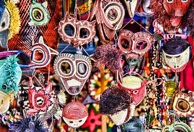 Photograph - Mask Me In El Casco By Diana Sainz by Diana Raquel Sainz