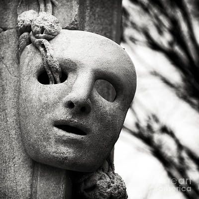 Photograph - Mask Of Heracles by John Rizzuto