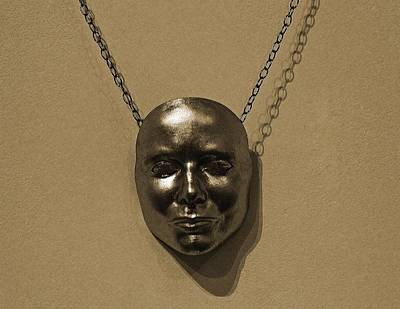 Photograph - Mask On Chain by Michael Saunders