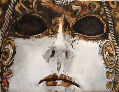 Painting - Mask by Sylvia Miller
