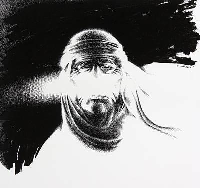 Photograph - Masked By White Wind by Mamoun Sakkal