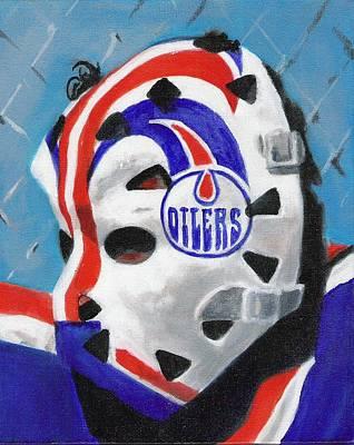 Masked Fuhr Art Print by Paul Smutylo