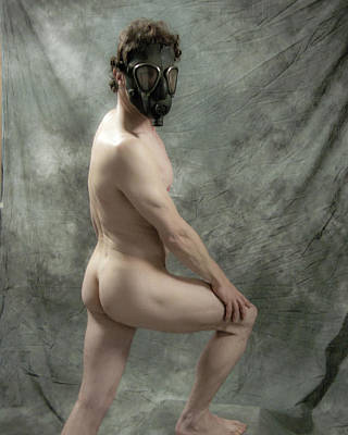 Photograph - Masked Man by Ann Tracy