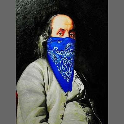 Pop Art Photograph - #masked #philosopher #art #work At by Enoch Soames
