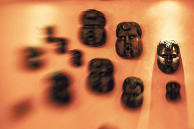 Photograph - Masks by Celso Bressan