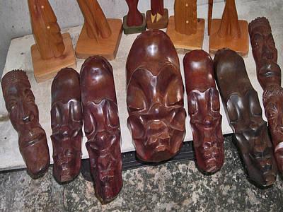 Masks. Cuba. Original by Andy Za