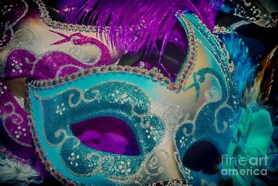 Photograph - Masks For Mardi Gras by Kathleen K Parker