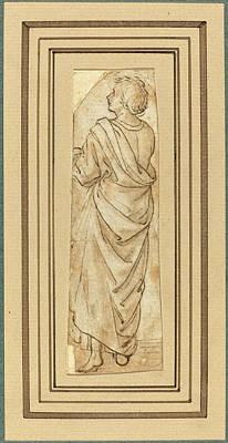 Wash Drawing - Maso Finiguerra Italian, 1426 - 1464, Saint John by Quint Lox
