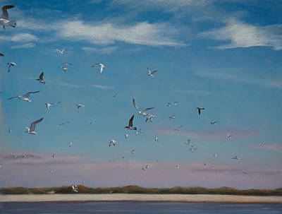Pastel - Masonboro Airshow by Christopher Reid