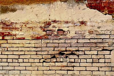 Photograph - Masonry Mural 2 by Nadalyn Larsen