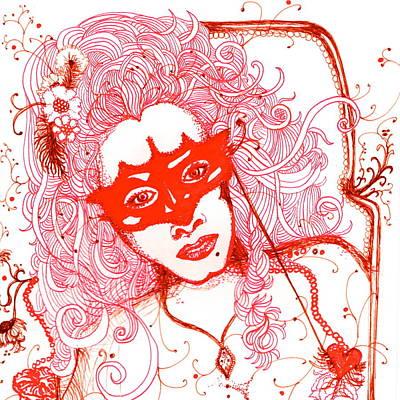 Masquerade Original by Andrea Cook