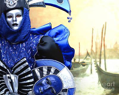Photograph - Masquerade by Edmund Nagele