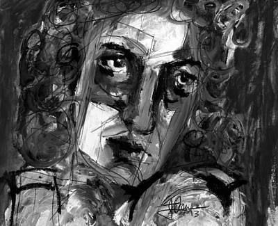 Masquerade II Art Print by Jim Vance