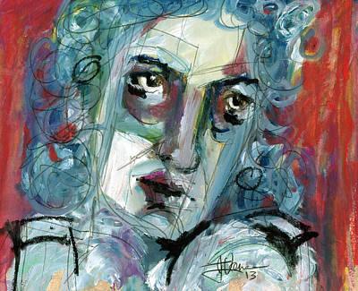 Masquerade Art Print by Jim Vance