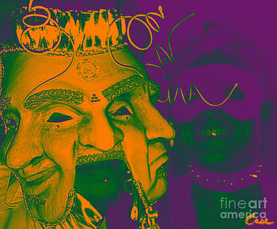 Digital Art - Masquerade Mardi Gras by Feile Case
