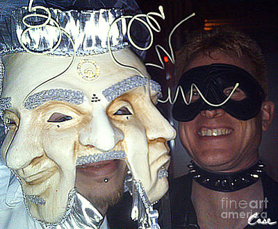 Photograph - Masquerade Masked Frivolity by Feile Case