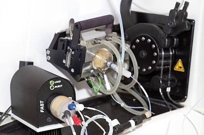 Mass Spectrometer Sample Injector Art Print
