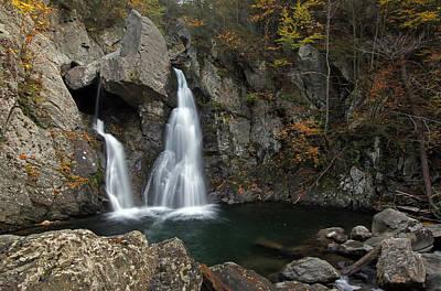 Bash Bish Falls Photograph - Massachusetts Bash Bish Waterfall by Juergen Roth