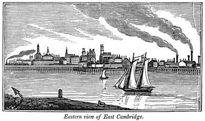 Cambridge Painting - Massachusetts Cambridge by Granger