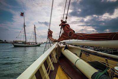 Wellfleet Photograph - Massachusetts, Cape Ann, Gloucester by Walter Bibikow