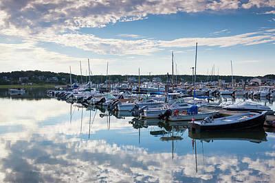 Wellfleet Photograph - Massachusetts, Cape Cod, Wellfleet by Walter Bibikow
