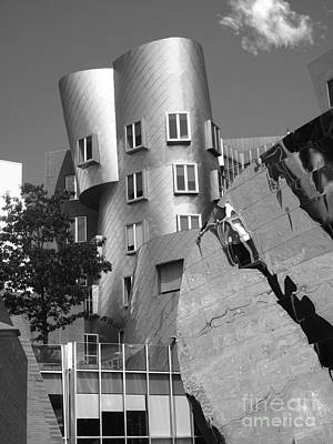 Massachusetts Institute Of Technology Stata Center Art Print by University Icons