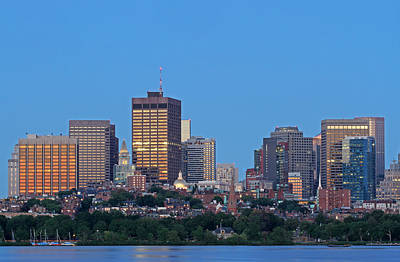 Boston Photograph - Massachusetts State House And Beacon Hill by Juergen Roth