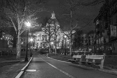 Photograph - Massachusetts State House And Command Park by John McGraw