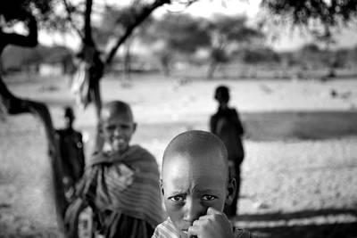 Photograph - Massai Boy by Roberto Falck