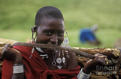 Photograph - Massai Smile - Tanzania by Craig Lovell