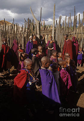 Photograph - Massai Tribe - Tanzania by Craig Lovell
