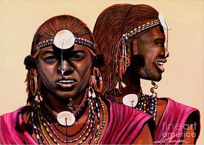 Railroad - Massai  Warriors by Joel Thompson