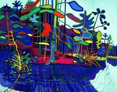 Painting - Massapoag Point by Debra Bretton Robinson